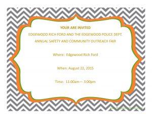 Annual Safety & Community Outreach Fair
