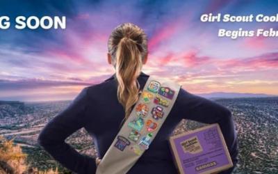 It's Girl Scout Cookie Season