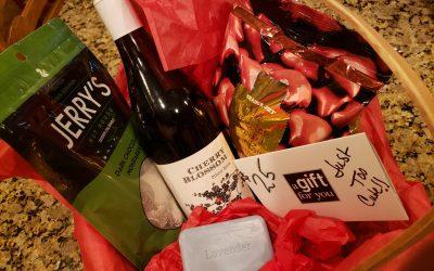 Valentine's Gift Baskets — Let the Bidding Begin!